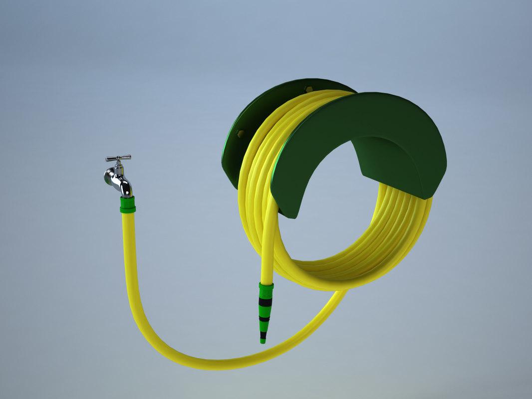 3d hose tap
