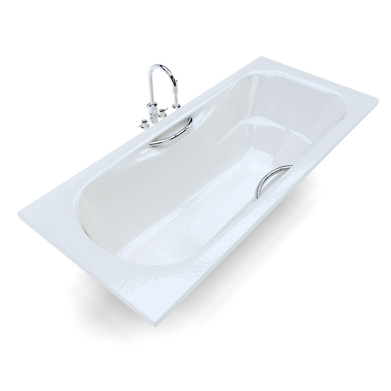 3d roca malibu bath model