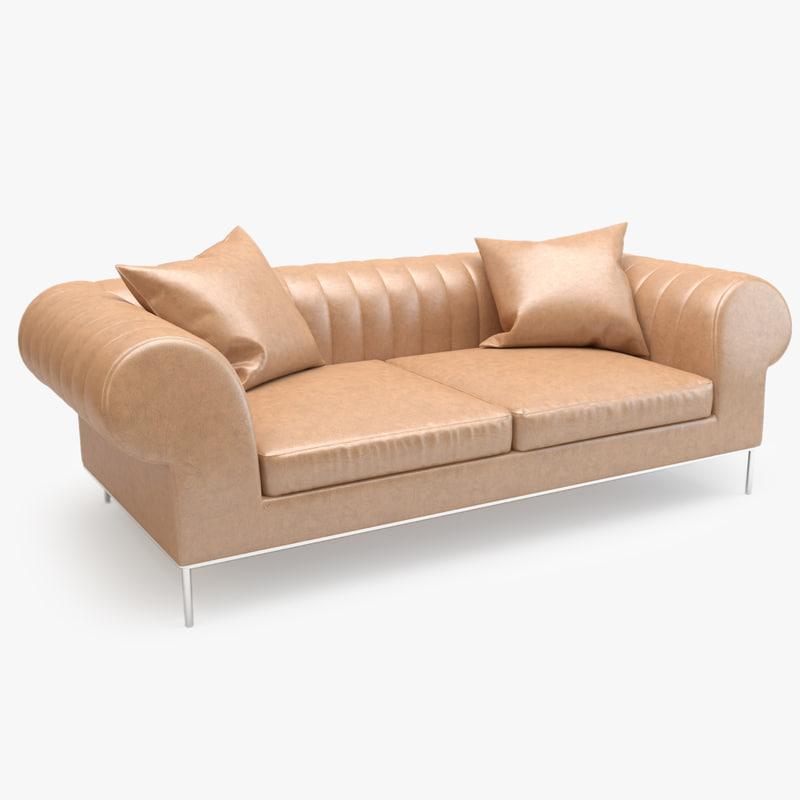 3d model busnelli deja vu sofa