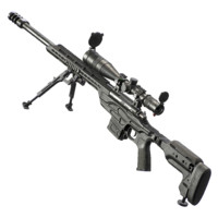 kimber soc tactical sniper rifle 3d obj