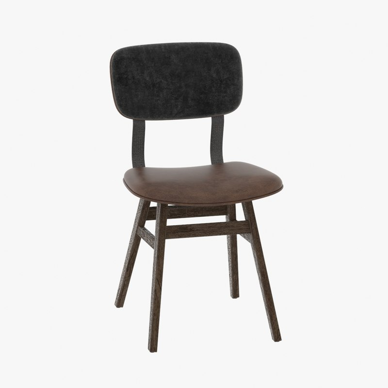 3d lunet chair model
