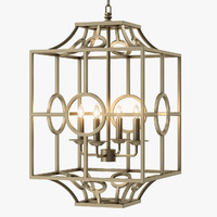 holbeck light chandelier 3d max