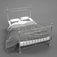 Chrome Iron Teen's Twin Bed