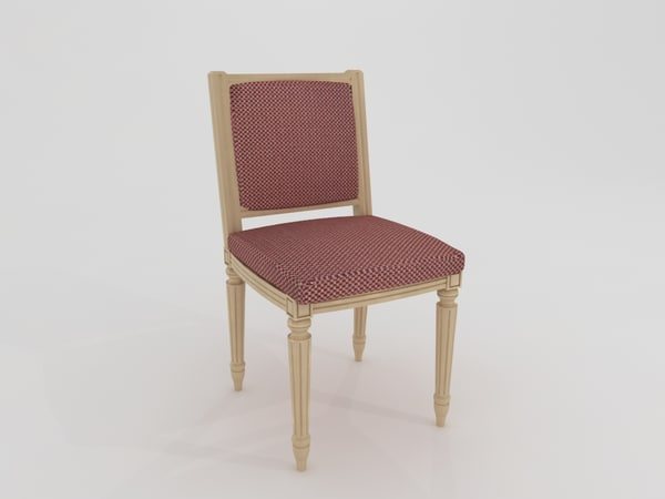 seat chair 3d max