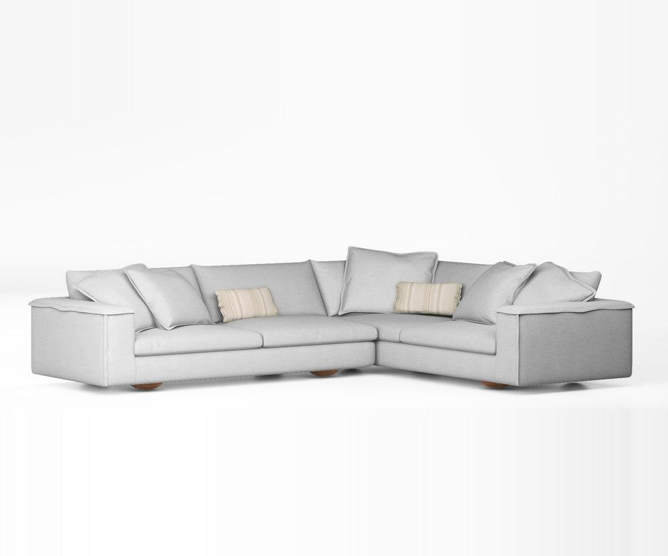 3d model sofa jardan sunny