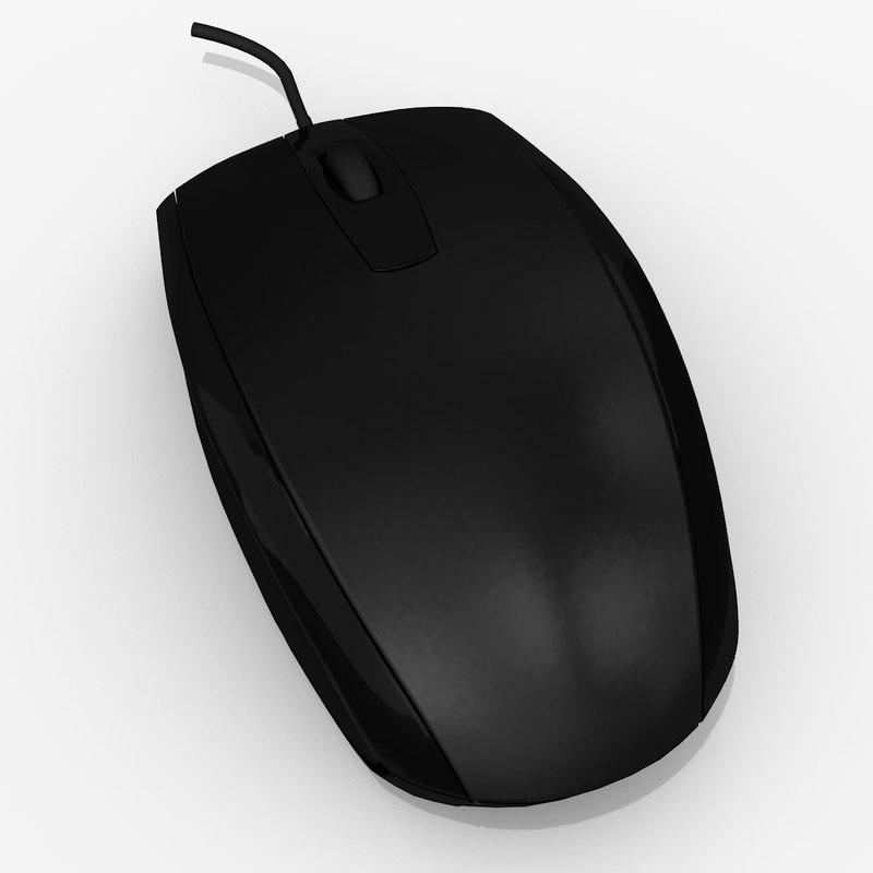 3d hp mouse model