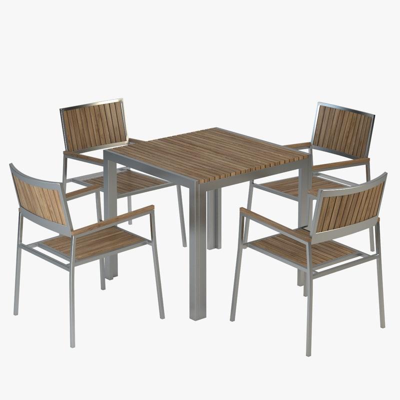 3ds vigo chair table