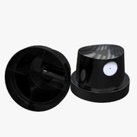 spray paint cap nozzle 3ds
