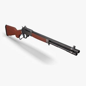 henry rifle c4d