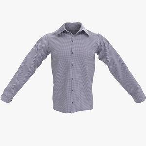 male shirt 3d model