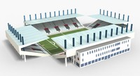 max stadium modeled scenes