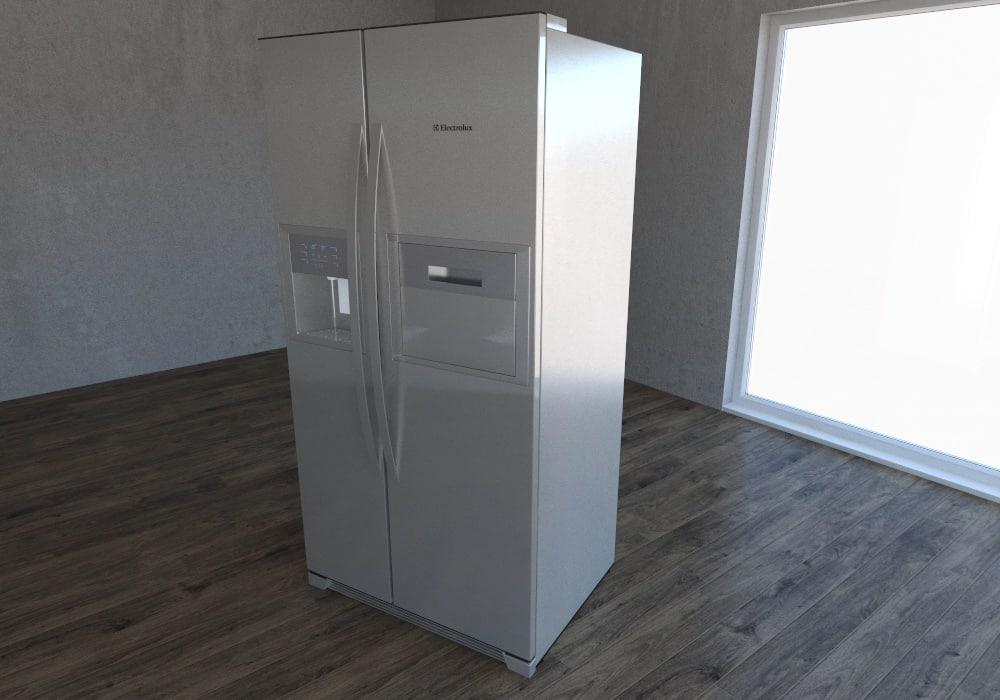 max refrigerator electrolux