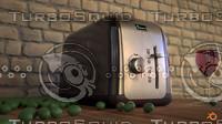 3d toaster