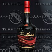 Tia Maria Liquor Bottle