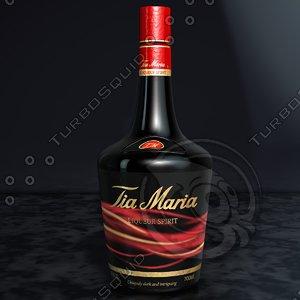 dxf photorealistic tia maria liqueur