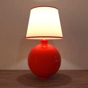 gumball desk lamp 3d obj