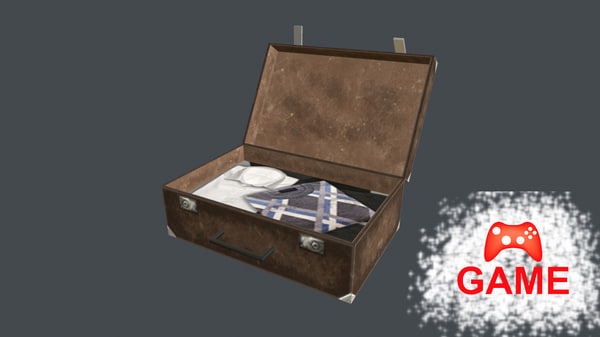 suitcase case old max