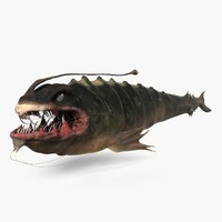sea monster 3d model