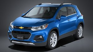 chevrolet trax 2017 3d 3ds