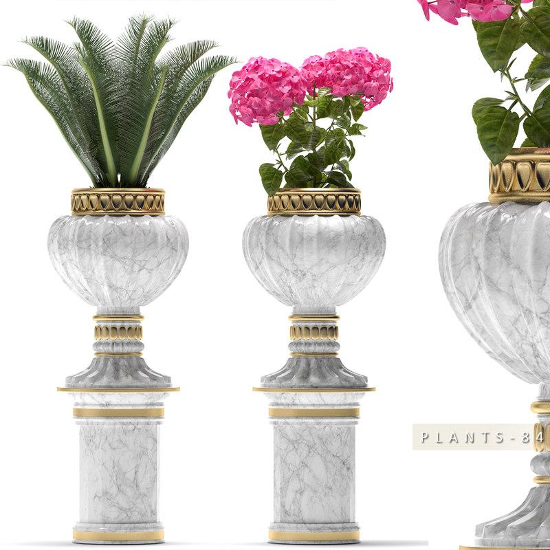 plants 84 flower 3d max