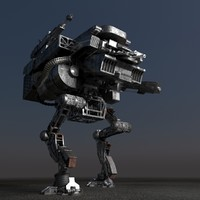 mech robot 3d model