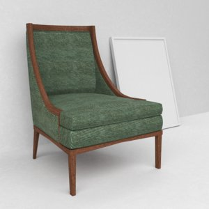 bernhardt mya armchair 3d max