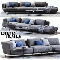 max ditre italia lennox sofa