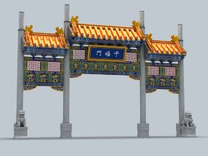 chinatown vancouver 3d model