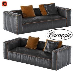 nolita leather sofa 3d max
