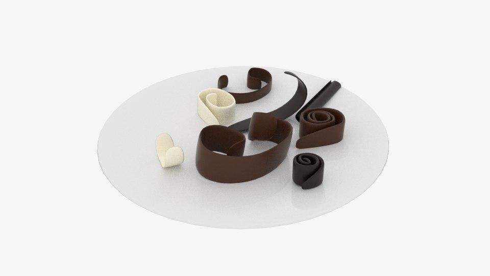 chocolate roll debris 3d 3ds