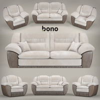 sofa and armchair BONO Chester1