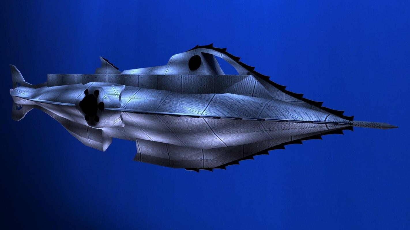 3d nautilus submarine