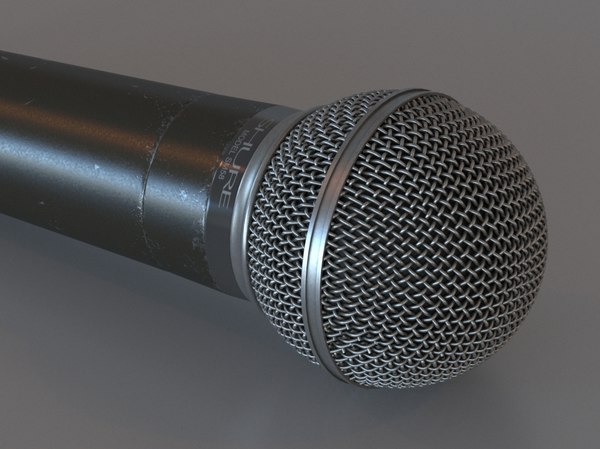 3d microphone shure