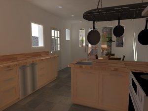 kitchen design pack 3ds