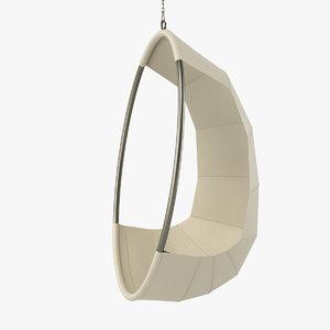 ivano redaelli swing chair 3d model