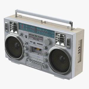 boombox lasonic 80s - max