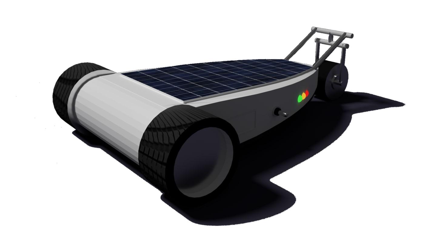 ballcar rc concept car 3d model