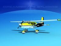 cessna 172 skyhawk 3d 3ds