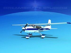 cessna 172 skyhawk 3ds