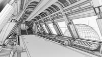 Spaceship corridor 2