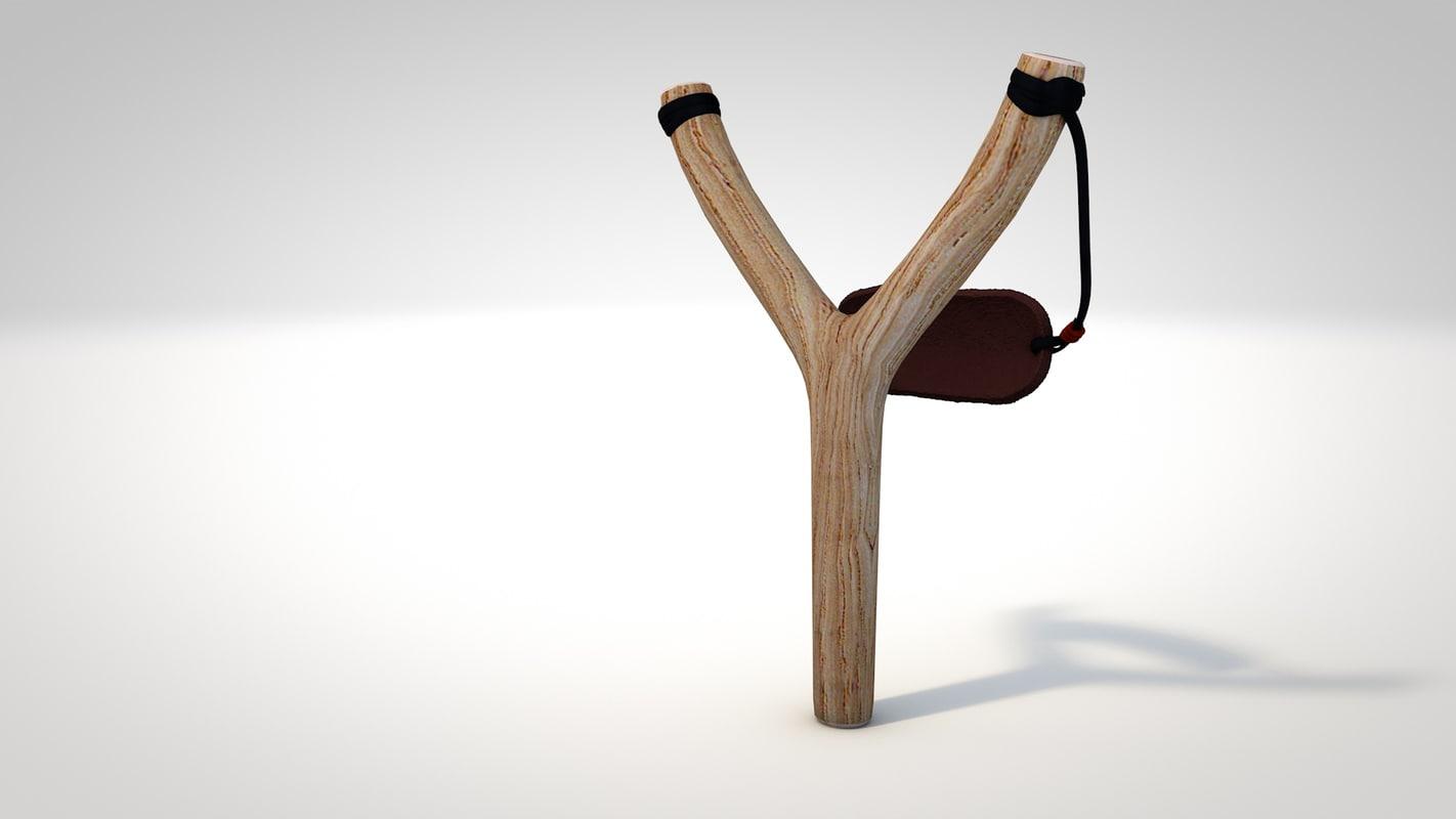 3d slingshot model