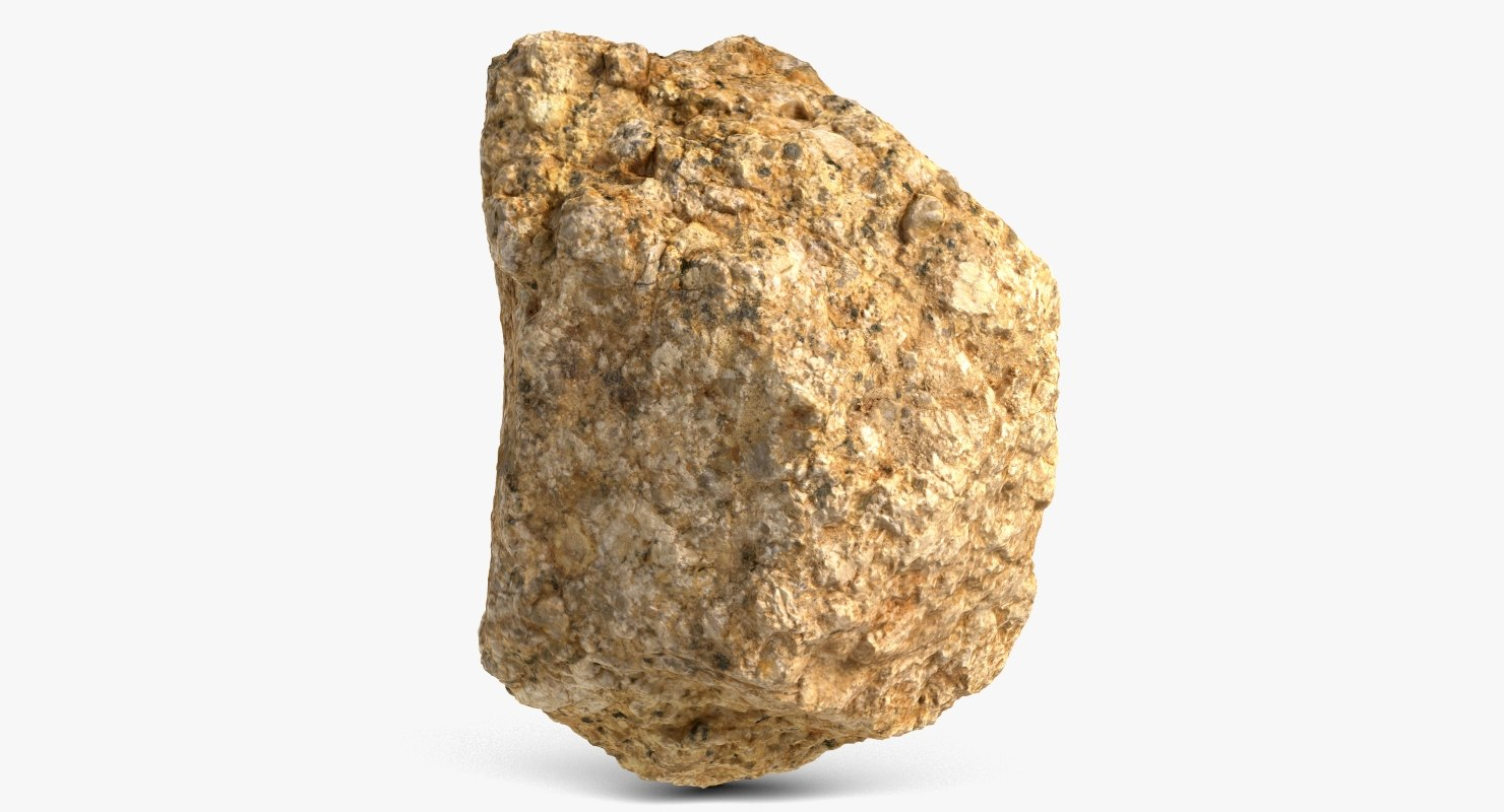 3d model stone 4