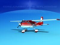 cessna 172 skyhawk 3d dxf