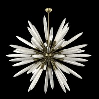 chandelier light corbett 217-710 3d 3ds