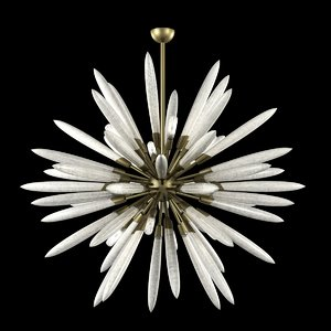 chandelier light corbett 217-710 3d 3ds