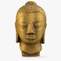3d hindu buddha statue