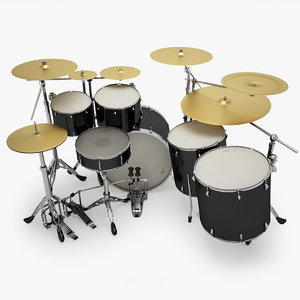 3d drums studiolight model