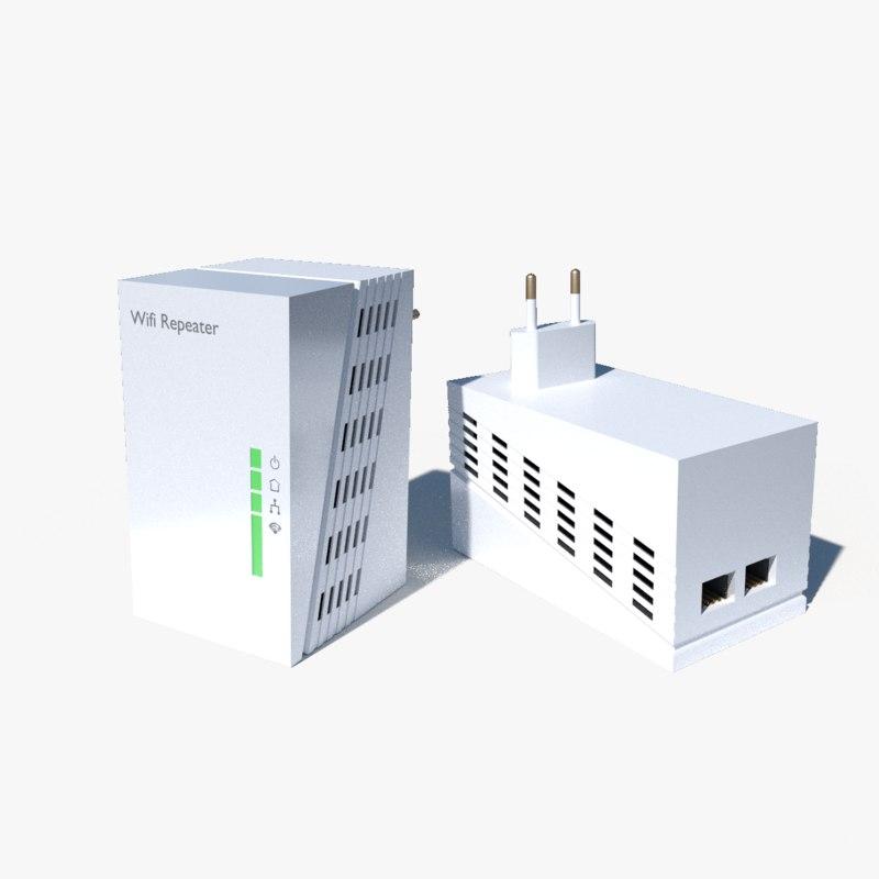 3d wireless wifi repeater