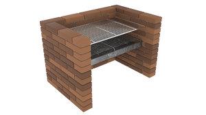 3d grill model