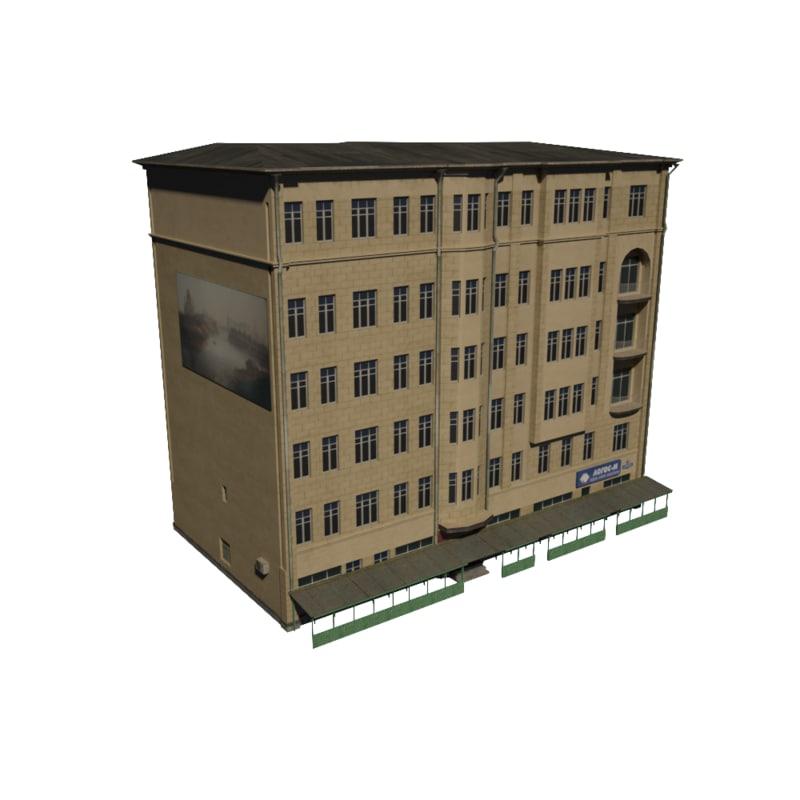 3d building shop